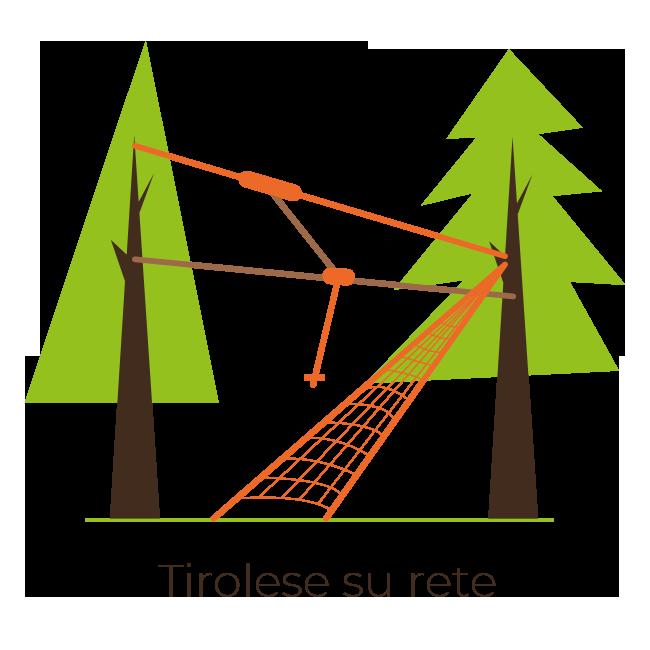 ARBOREA - Costruzione Parchi Avventura | Tirolese su rete