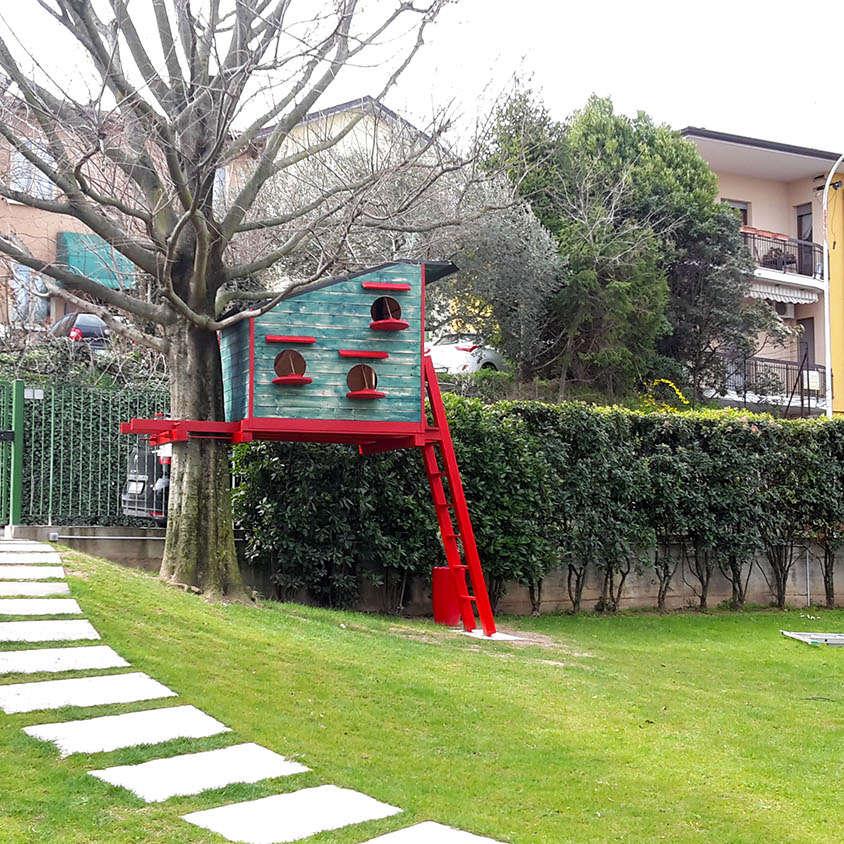 Costruzione Casa sull'Albero