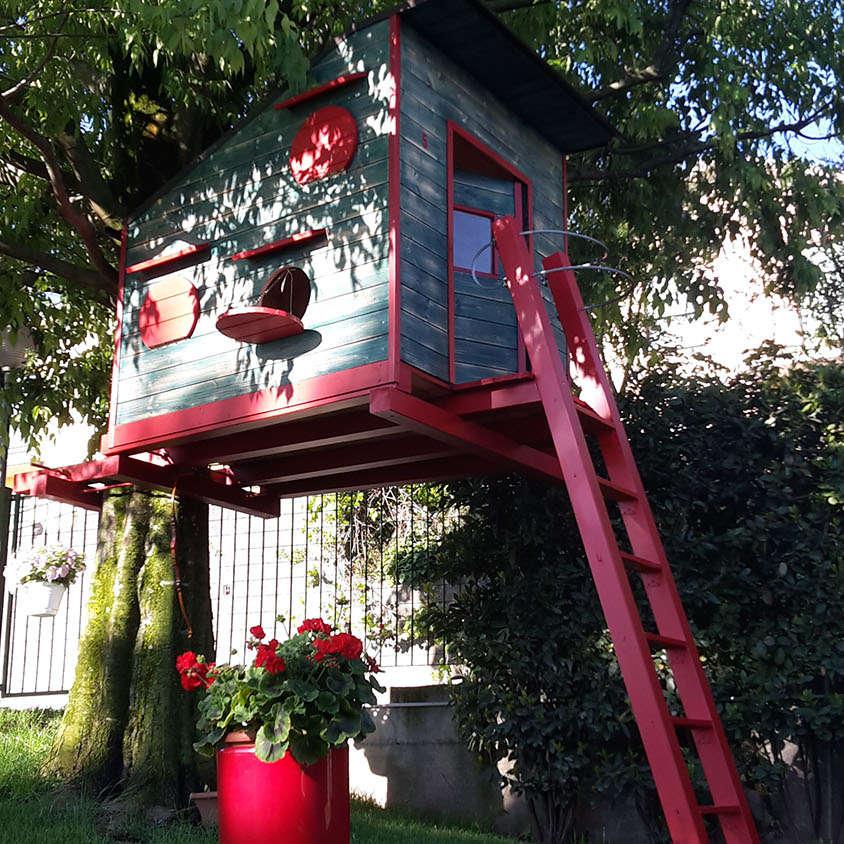 Progettazione e Realizzazione Casa sull'Albero