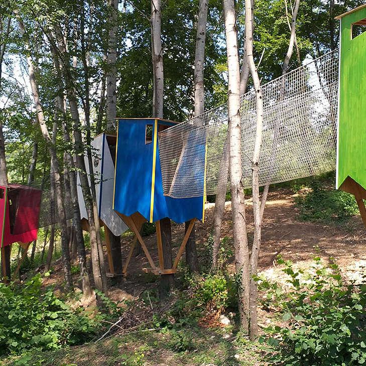 Progettazione Parchi Avventura per Bambini