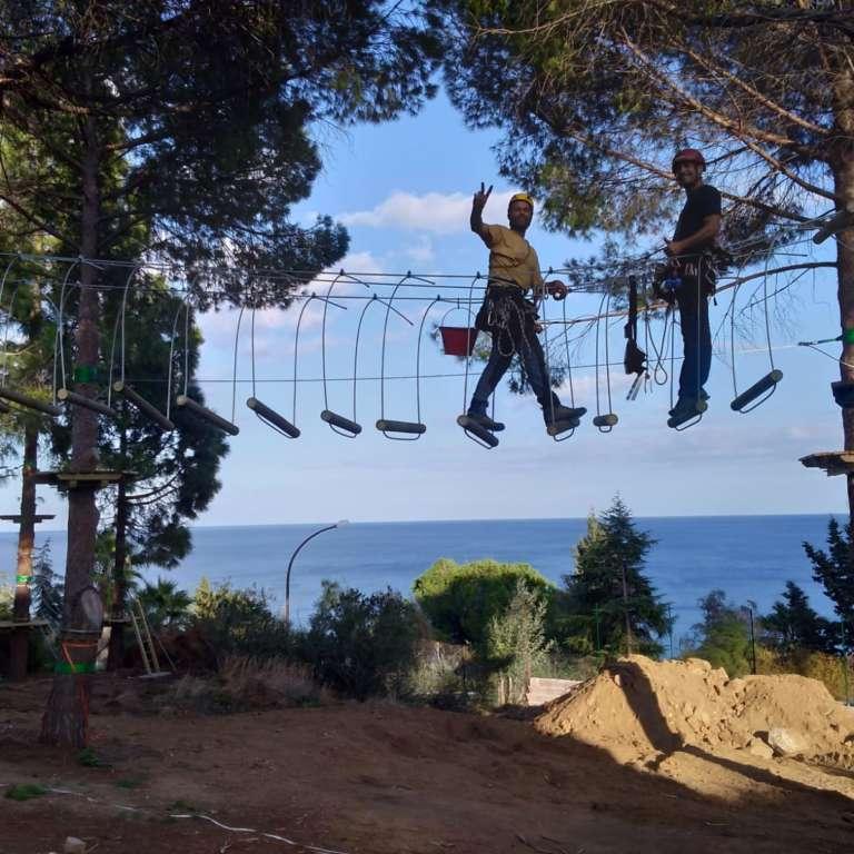 ARBOREA | Costruzione parchi avventura