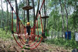 Realizzazione Parco Giochi | Arborea | Costruzioni parchi Avventura